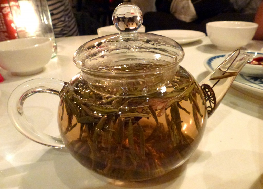 Jasmine tea at Cay Tre