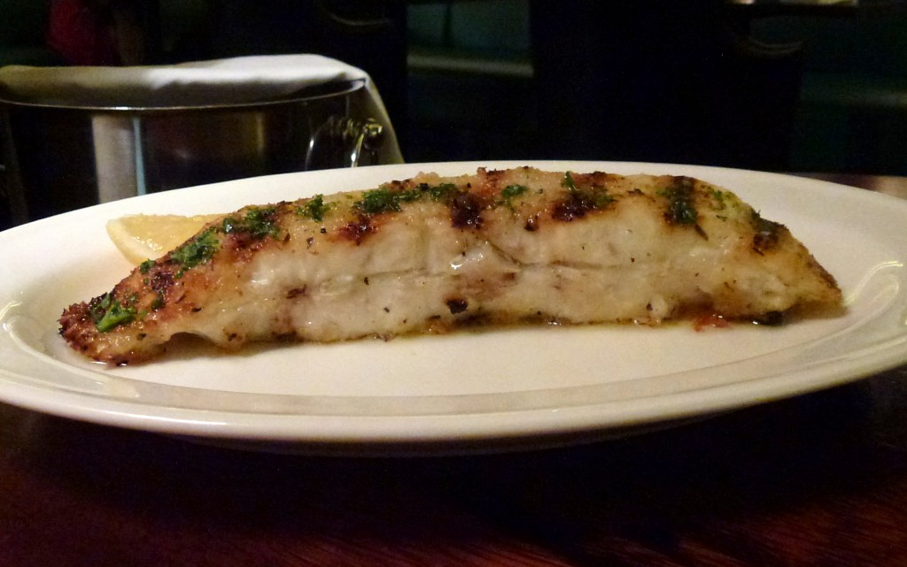 Hawksmoor cut turbot at Hawksmoor air street