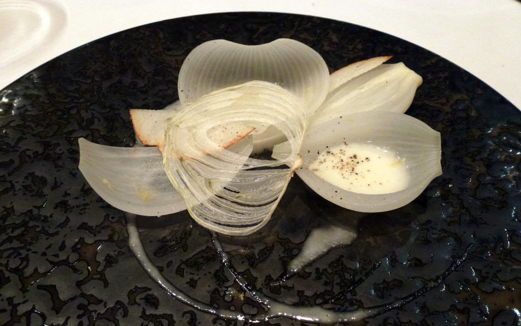 Cevennes onion, William pear at hedone