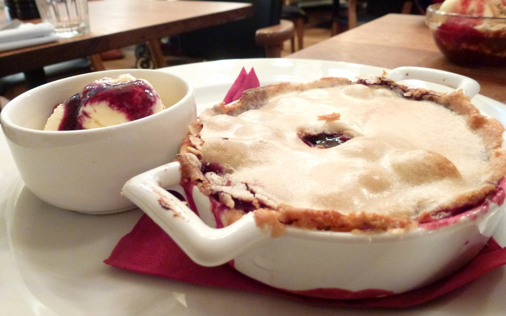 Cherry pie at foxlow
