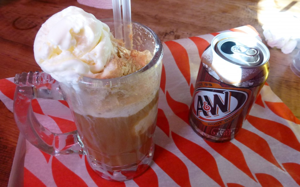 Root beer float MEATliquor