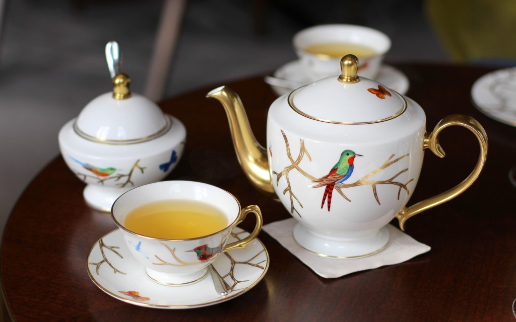 'Li-Shan' rare oolong tea, The Rosebery at Mandarin Oriental Afternoon Tea, Knightsbridge, London
