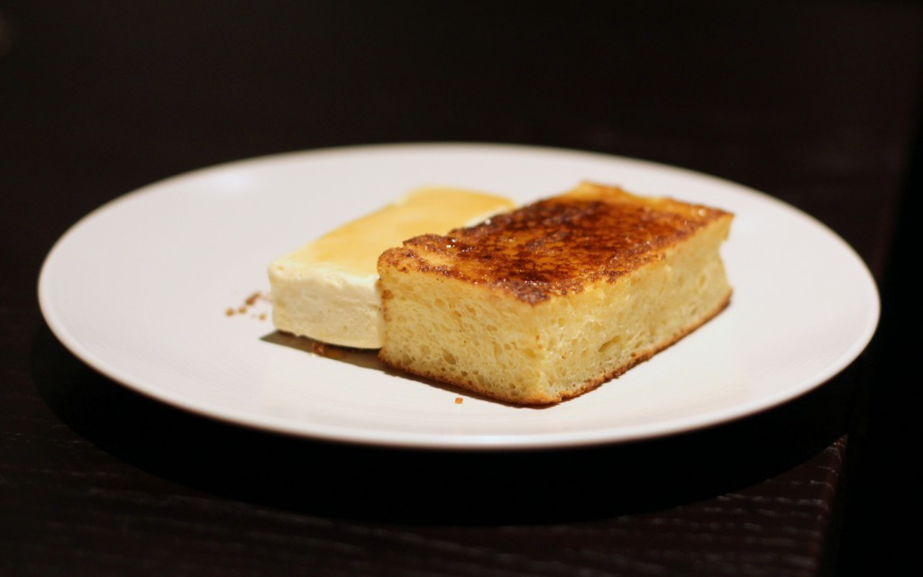 Tredwell's Marcus Wareing, covent garden Pain perdu, maple cream