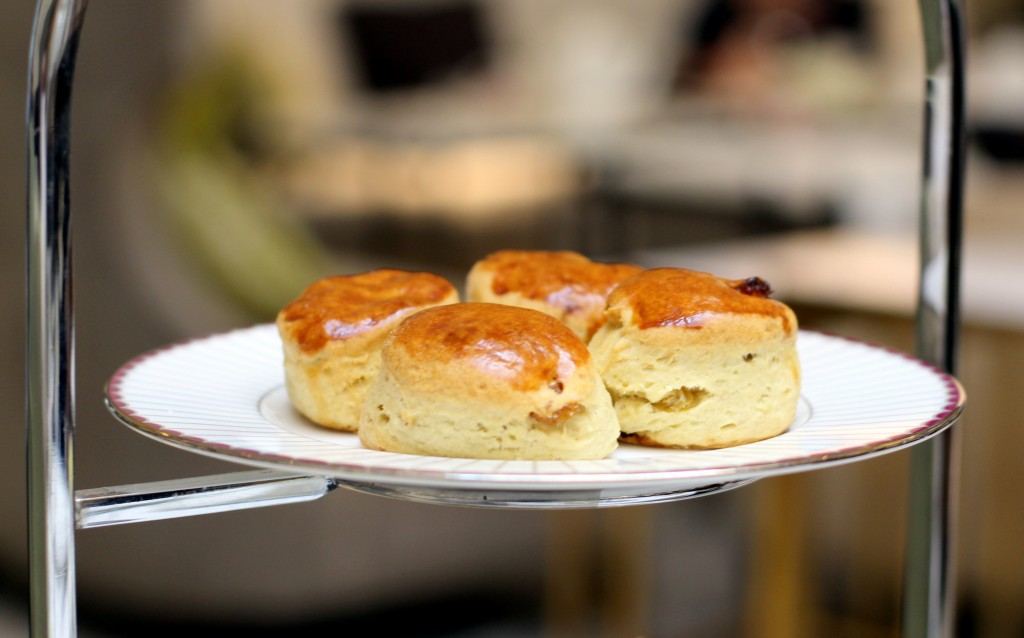Scones - Afternoon tea at Lobby Lounge in Corinthia London
