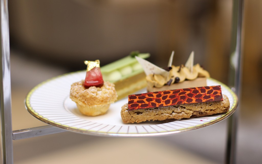 Cakes Afternoon tea at Lobby Lounge in Corinthia London