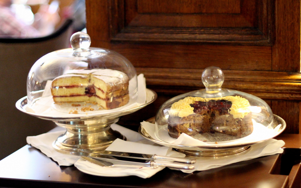 Cake trolley Browns Afternoon Tea Mayfair Hotel Review