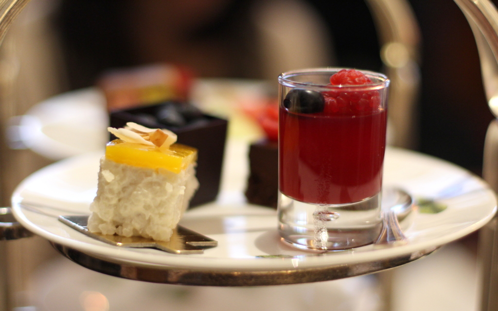 Tea-Tox treat tier Browns Afternoon Tea Mayfair Hotel Review
