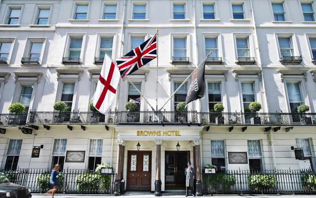 Browns Afternoon Tea Mayfair Hotel Review