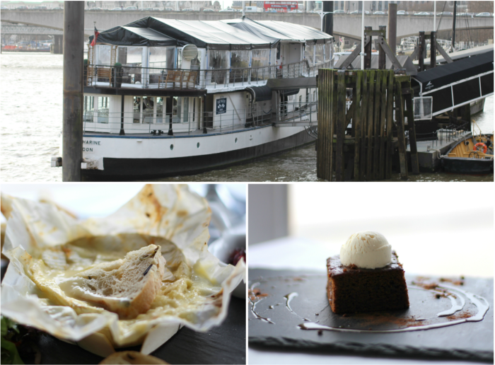 Gibsons yacht london temple restaurant review
