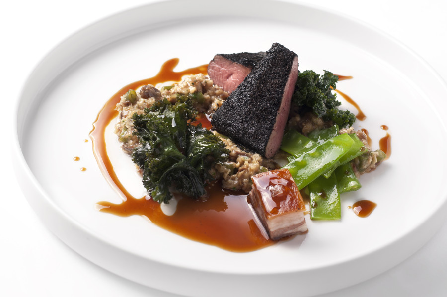 Lamb loin, slow cooked neck of lamb, Canvas chelsea restaurant review