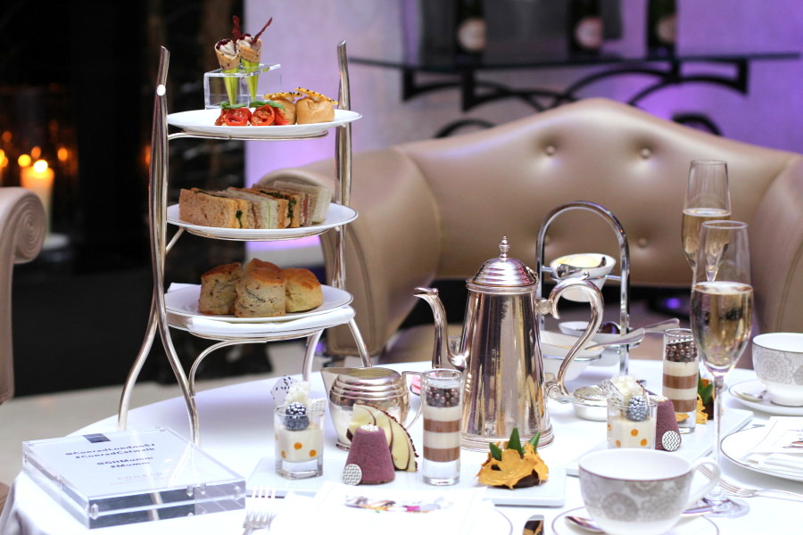 afternoon tea conrad hotel london