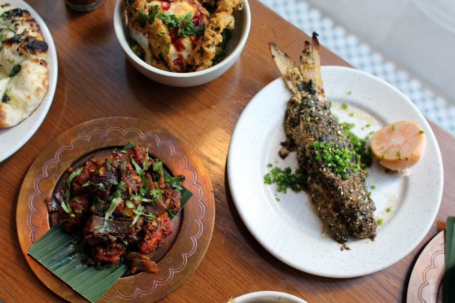 Full flavours in the Indian half plates at Talli Joe