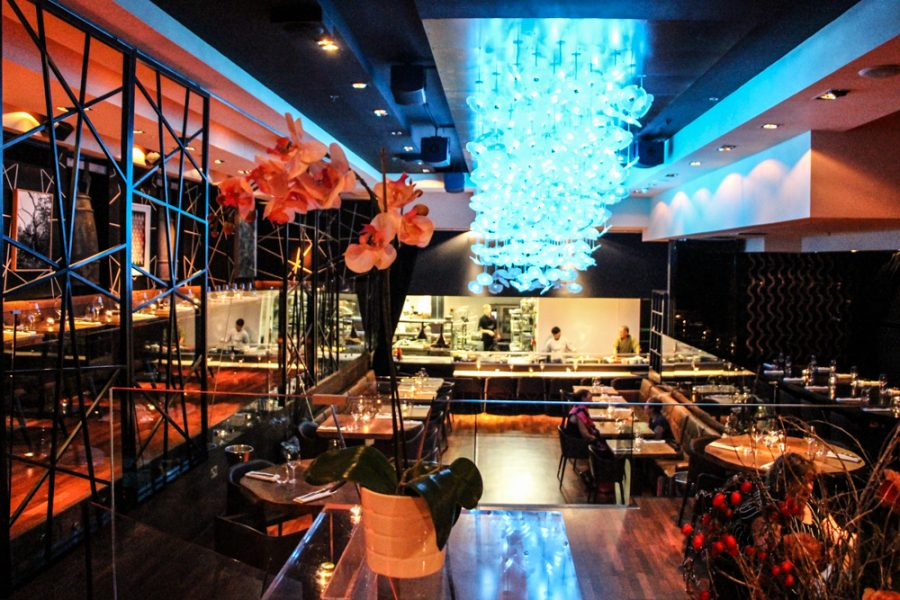 DSTRKT London restaurant club review