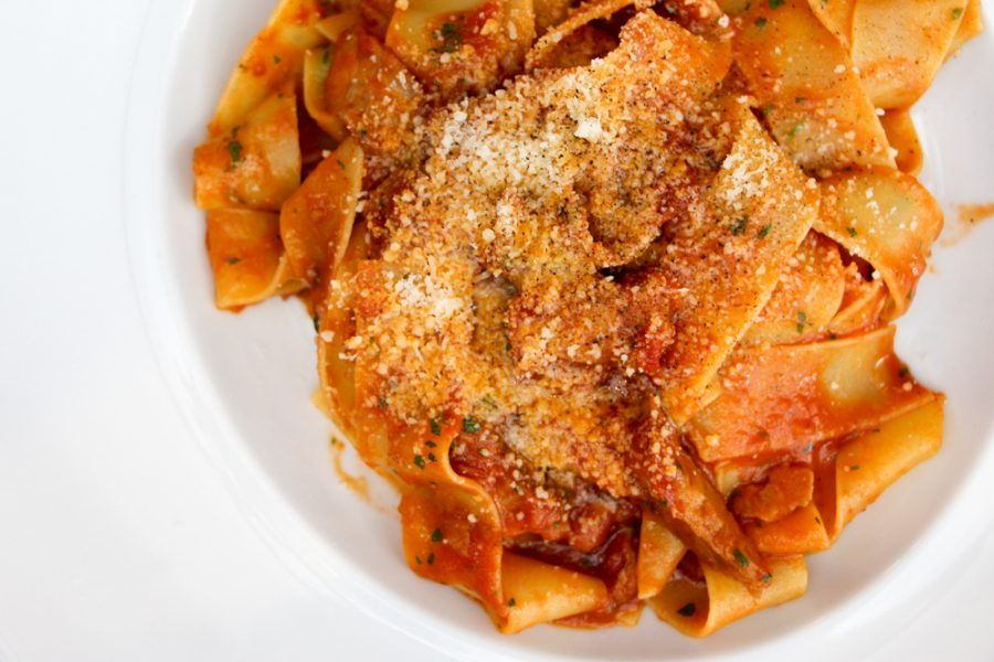 Vicino food restaurant review Parsons Green veal pappardelle