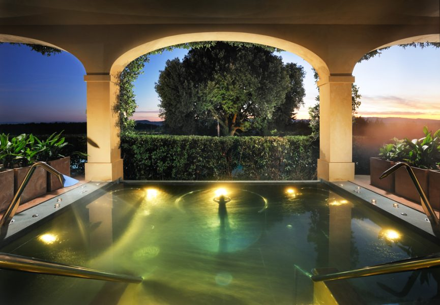 Castello Del Nero Tuscany Italy Hotel blog review