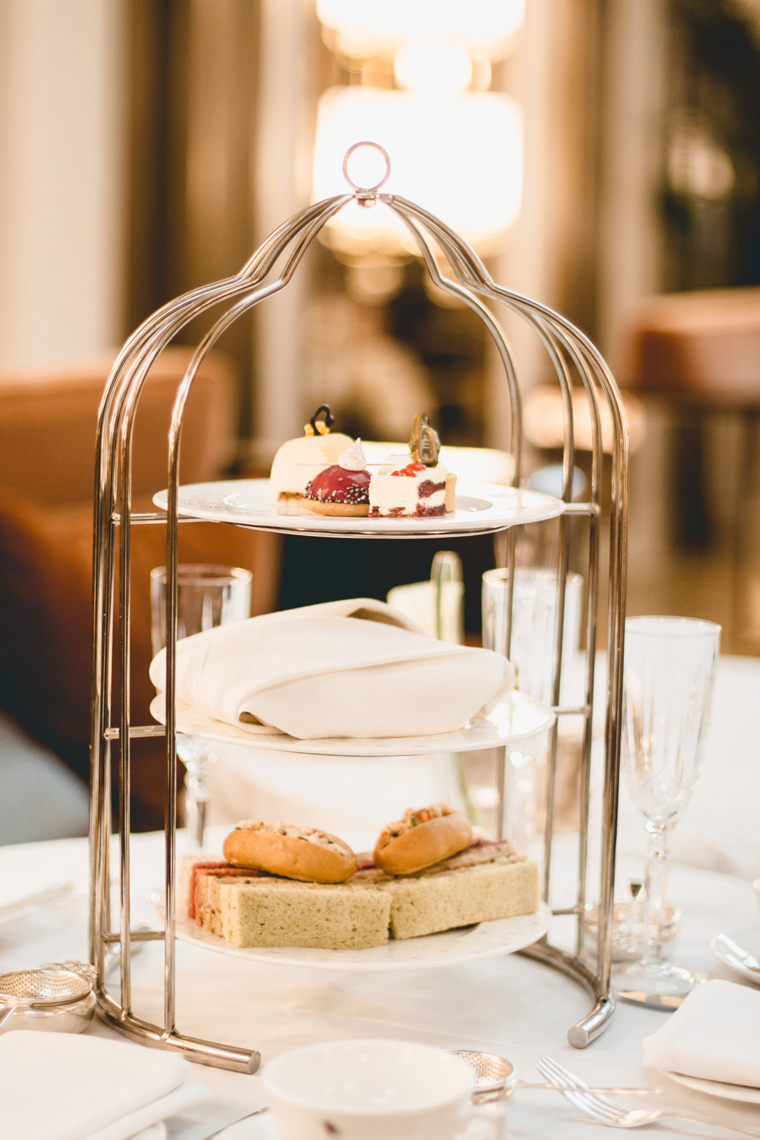 Sheraton Park Lane Jazz afternoon tea review Mayfair