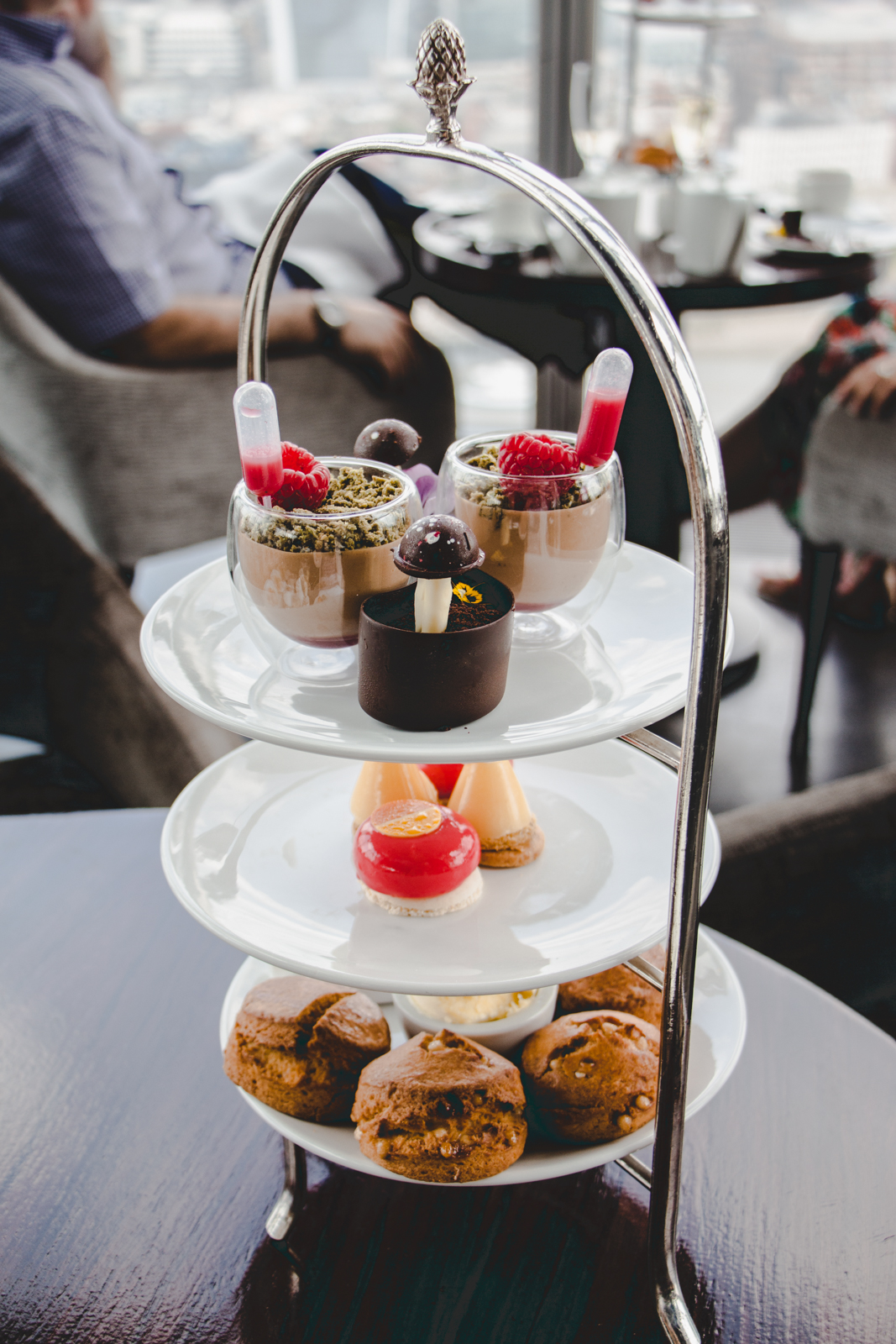 Aqua Shard review afternoon tea