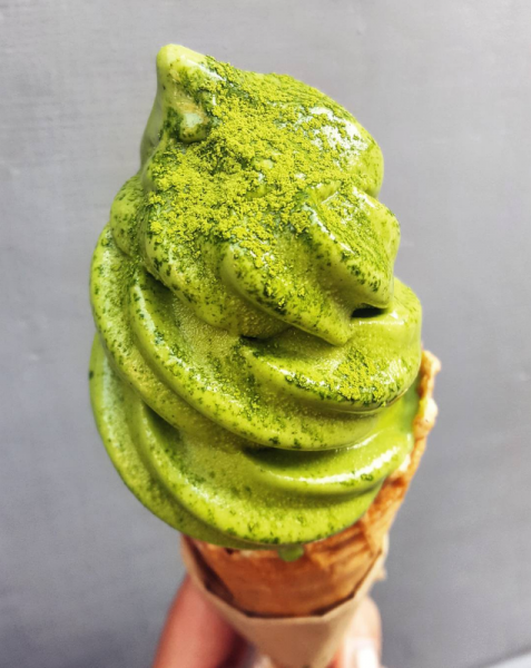 Instagram most instagrammable best pictures dessert london wrap your lips around this tombo matcha ice cream
