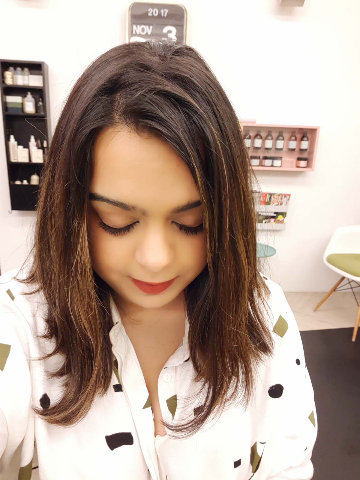 The Lounge Soho hair balayage review london wrap your lips around this