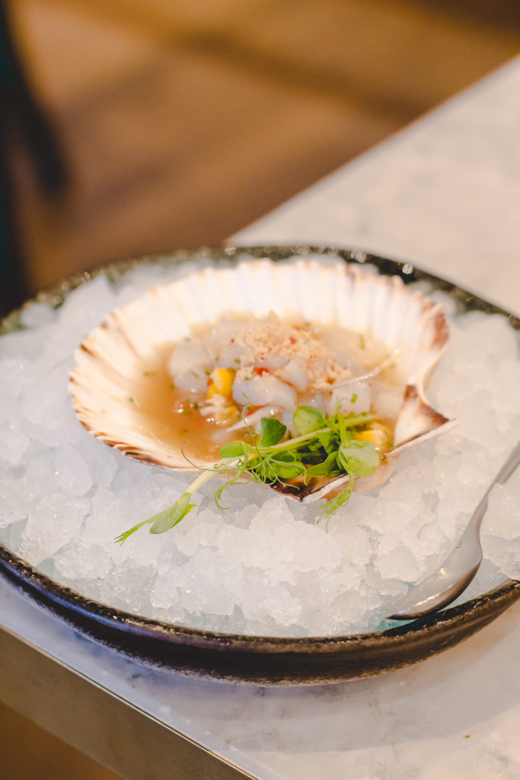 Fancy Crab London restaurant review blog wrap your lips around this
