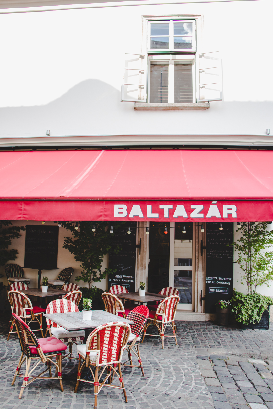 baltazar restaurant lunch Luxurious Weekend in Budapest itinerary blog review wrap your lips around this