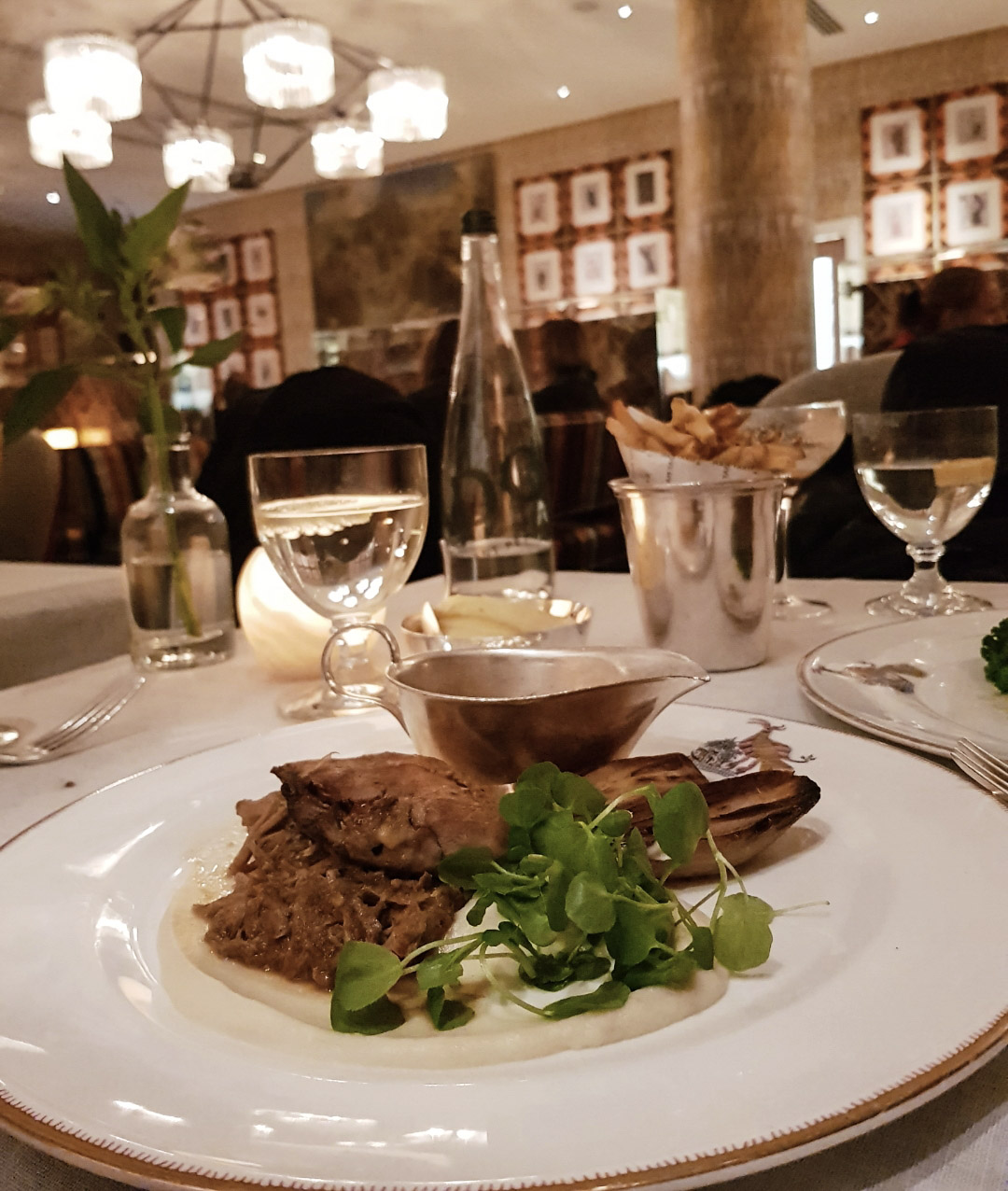 Dinner at Ham Yard Hotel Soho Restaurant Review blog wrap your lips around this