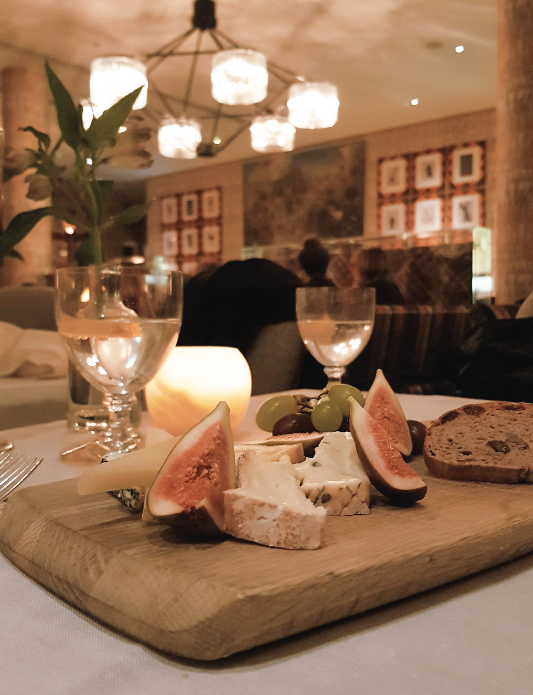 Dinner at Ham Yard Hotel Soho Restaurant Review blog wrap your lips around this cheese